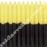 Vela Palito Amarela e Preta- 1 Kg