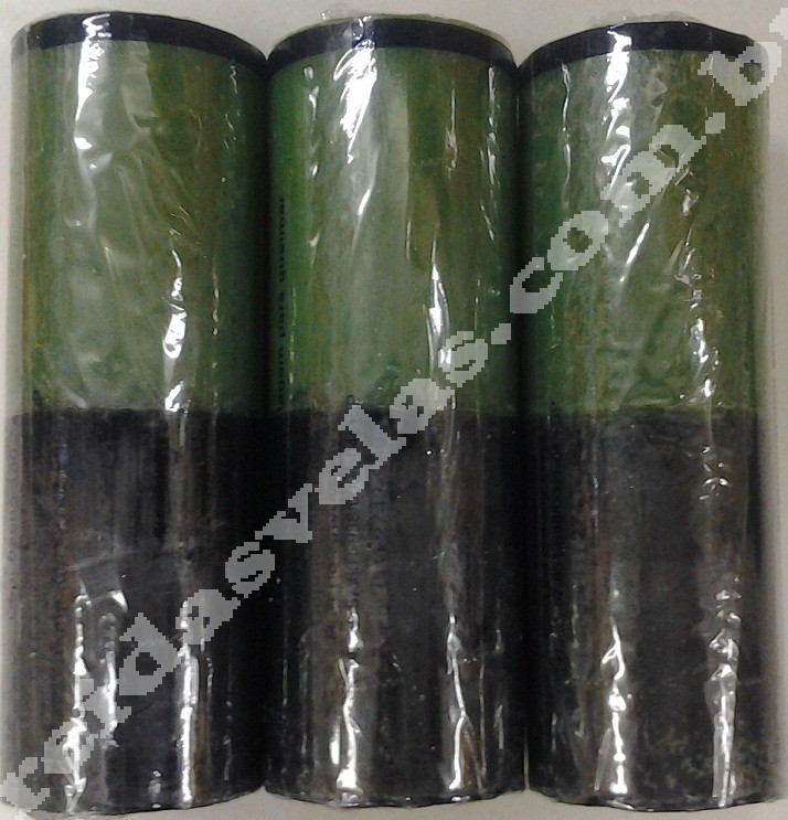 Vela Verde e Preta - 240g